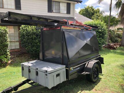 7x4 builders trailer