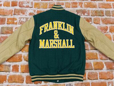 Nuevo Franklin Y Marshall Universidad Vintage Chaqueta College Informal Talla: L