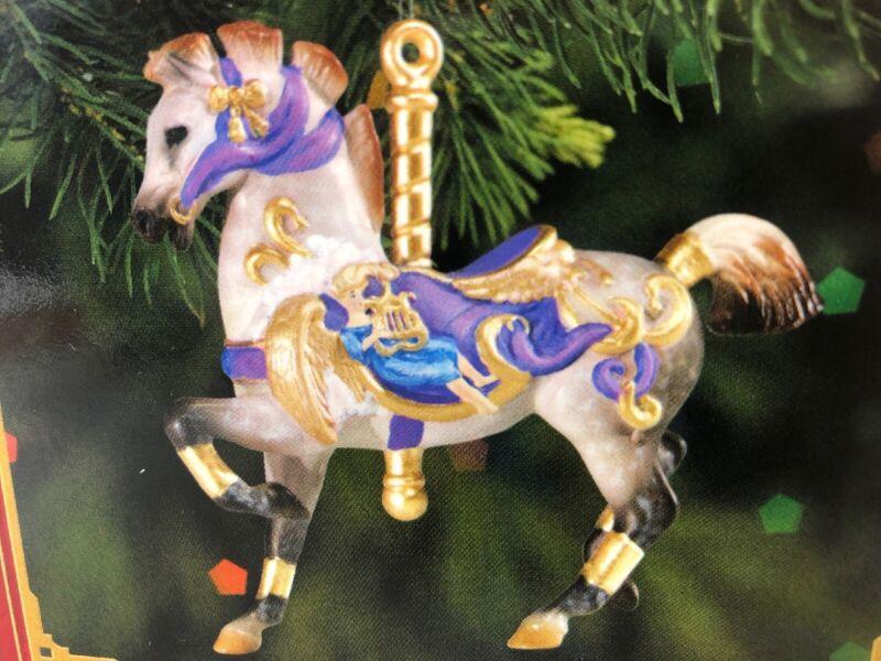 Breyer Sonata Fine Porcelain Carousel Holiday Christmas Ornament #700611 NIB