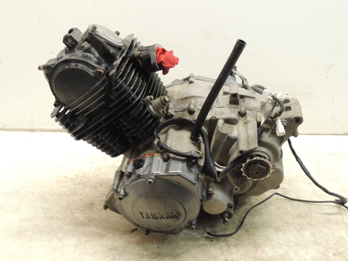 2000 Yamaha Warrior 350 Complete Running Engine Motor 12