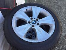 BMW X5 wheels 19inch. With spare.  Set of 5 Mount Kuring-gai Hornsby Area Preview