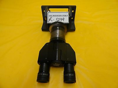 Nikon Binocular Lens Eyepiece Microscope Assembly Cfwn 10x20 Optistation 3 Used