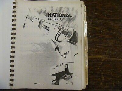 National Series 4 Crane 4t25 4t27 4t33 4t46 4t55 Operator Maintenance Manual