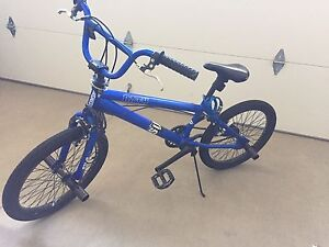 BMX Bike in blue