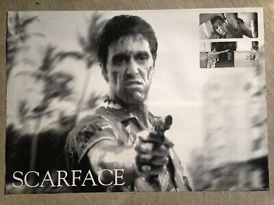 Scarface poster - 24x34 Tony Montana, Al Pacino, Sunset Drive RARE