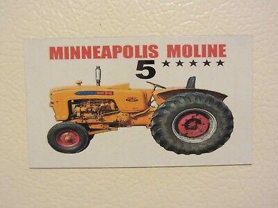 Minneapolis Moline 5 Star Fridgetool Box Magnet