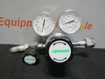 Controls Corporation Praxair 2123331-320 Oxygen Air Gas Regulator Double Gage