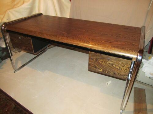 Peter Protzman For Herman Miller Zebrawood Desk Mid Century Modern Eames