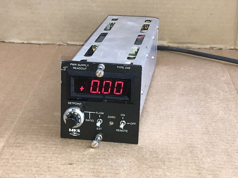 MKS 246 Power Supply Readout 246B