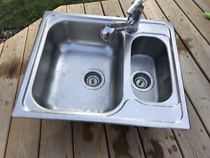 Sink and a half