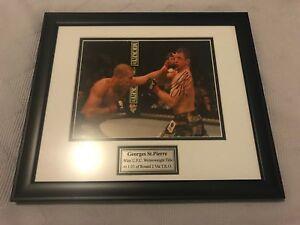 Georges St. Pierre (GSP) autograph memorabilia UFC