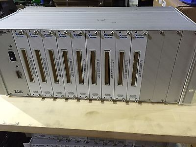 National Instruments Scxi-1001 12 Slot Chassis With 8 X Scxi 1100 1 X 1162hv