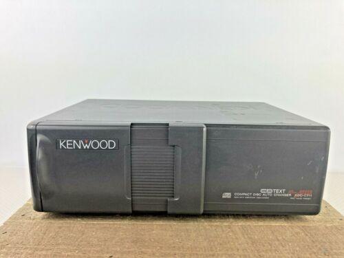 Vintage 1989 KENWOOD Auto 10 Disc CD Changer KDC-C711 PARTS REPAIR - AS IS