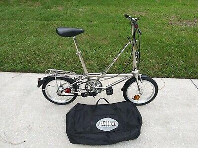 Dahon stainless steel Foldin Bicycle Camping Bike Dahon California RV boat Bag