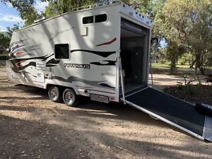 THE ULTIMATE TOY HAULER – FULL BATHROOM - PRESENTS AS NEW