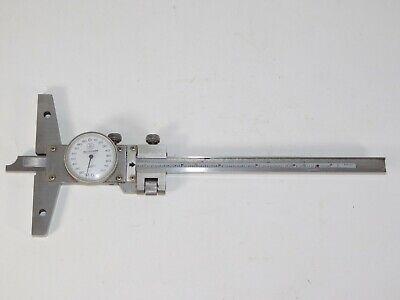 """Depth Gauge 6/"""" inch  150mm 15cm Measuring Heavy Duty Engineering Tool"""