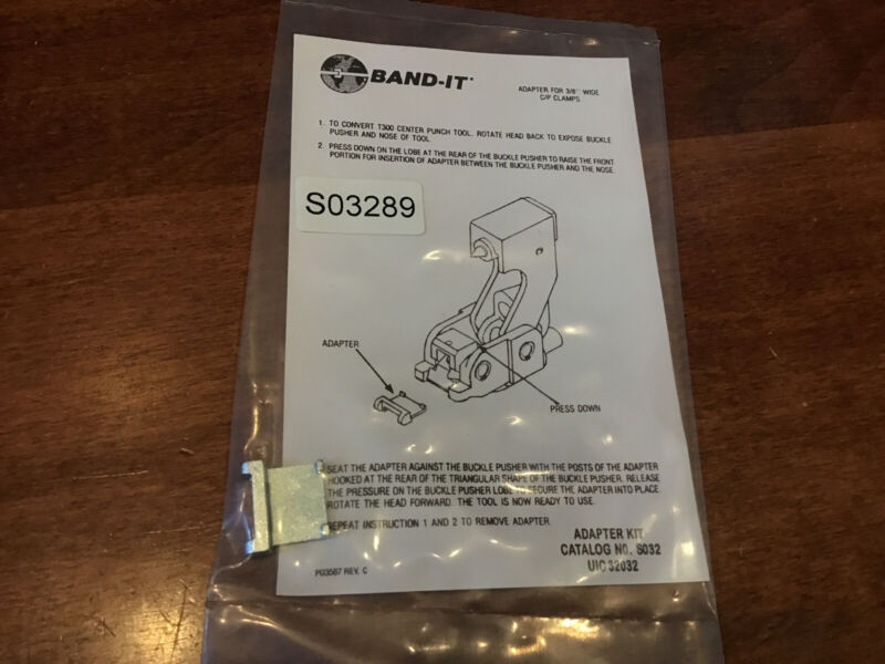 """Band-It Adapter For 3/8"""" Wide C/P Clamps"""
