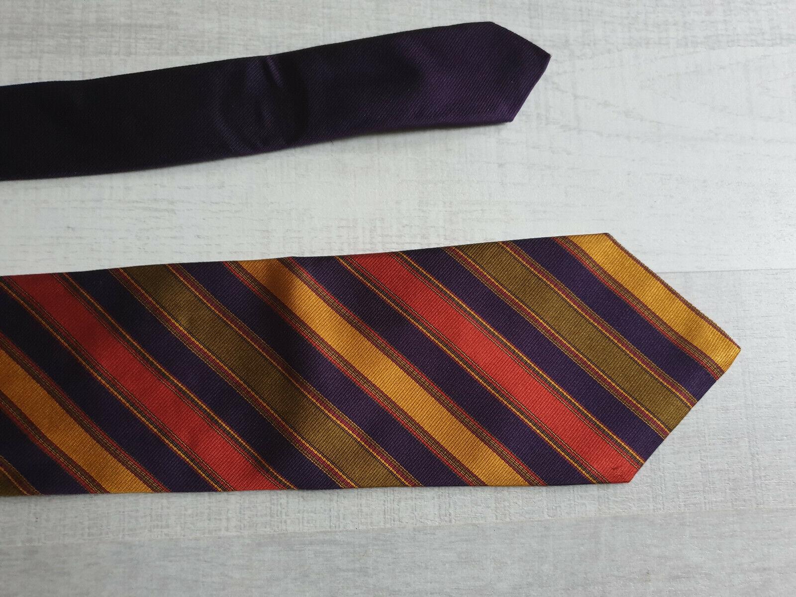 Cravate homme - kenzo - 100% soie