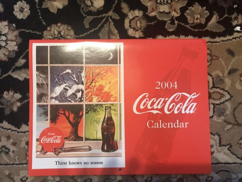 Coca Cola 2003 Calendar New