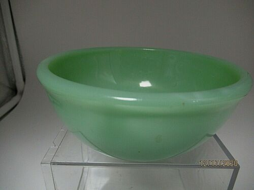 "Fire King Jadeite 4 3/4"" Rimmed Bowl Never Used **"