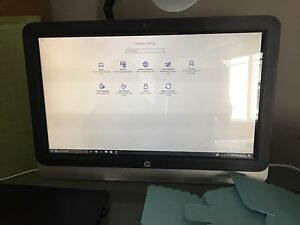 "300$ - HP 21.5"" Touchscreen All-in-One Desktop Computer"