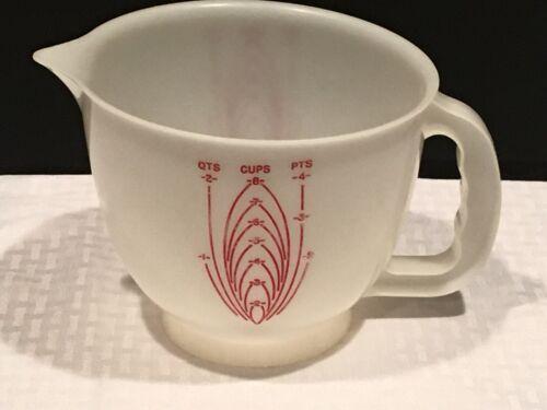 Vintage Tupperware Mix N Store 8 Cup 2 Qt Measuring Bowl Pitcher (((No Lid)))