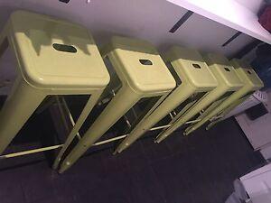 3 x tolix chairs stools Balwyn Boroondara Area Preview
