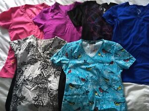 Sm and x-sm scrubs in great condition!