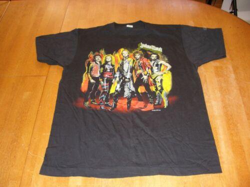 Judas Priest 1986 Turbo tour 100% ORIGINAL VINTAGE concert t-shirt L FuelForLife
