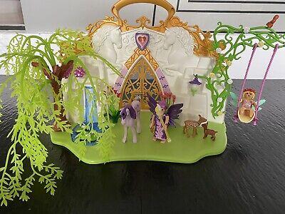 Playmobil 5208 Take Along Fairy Unicorn Carry Case Play set L@@K