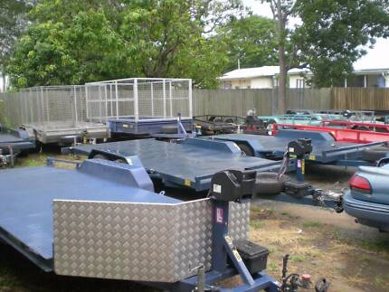 TRAILER HIRE BRISBANE CAR  PLANT FOR LARGER CARS & 4X4 BOX Brisbane Region Preview
