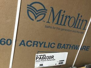 Mirolin bath tub new never opened