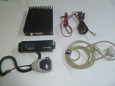 Motorola Maxtrac 42-50 Mhz Low Band Remote Head Two Way Radio D51mja9ja5ak
