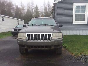 "2002 Jeep Grand Cherokee 4"" lift"