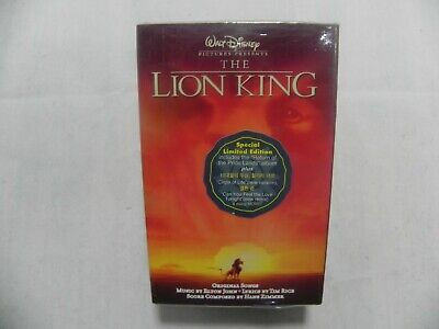 The Lion King Soundtrack Korea Special Limited Edition Double Cassette Tape SS