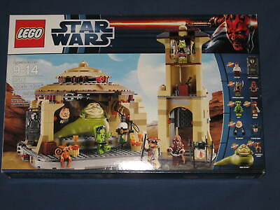 Lego Star Wars 9516 JABBA'S PALACE Set NEW NIB and SEALED Retired Released 2012