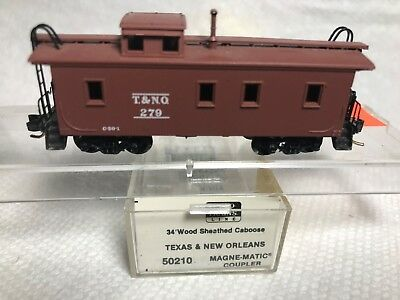 *** Micro Trains # 50-210 wood side T&NO  Texas & New Orleans Caboose # 279***