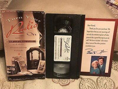 Turn Your Radio On Bill and Gloria Gaither VHS Video Christian MINT GAITHERS for sale  Rome