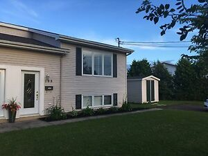 Duplex for rent in North End Moncton