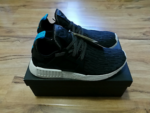 Adidas Nmd XR1 PK Primeknit Black Blue UK10 US10.5 Canning Vale Canning Area Preview