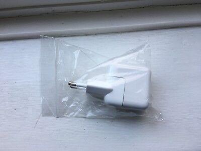 Genuine Apple EU iPad iPhone iPod 10w USB Mains Charger & EU Plug.