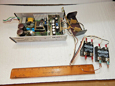 Power One Map130-s104 Power Supply15 Volts - And 24 5 Vdcmagnecraft Relays