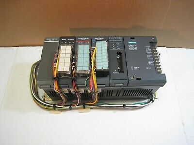 Siemens Simatic Ti335 Plc W Processor Input Output Inout Modules