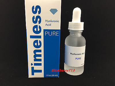 New In Box  Timeless Pure Natural Hyaluronic Acid 1Fl Oz   30Ml   Free Shipping