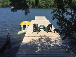 FAMILY COTTAGE TIME.  THIS AUGUST!! Waterfront 1.5hrs from GTA