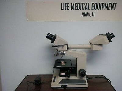 Olympus Bh-2 Teaching Microscope W Condenser And 2 Objectives10x And 40x Miami