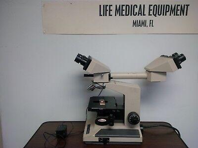 Olympus Bh2 Head Dual View Teaching Microscope Miami