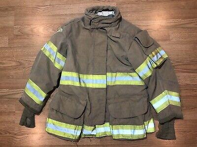 Janesvillelion Apparel Firefighters Jacket Turnout Bunker Gear 38 29 R 0881