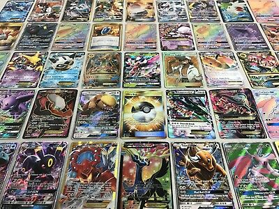 Pokemon Card Lot 100 Official Tcg Cards With Rare Com Unc   Gx Ex Hyper Or Mega