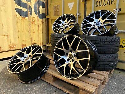 """18"""" BMW X1 X2 X3 X4 1 2 3 4 Series Z3 Z4 Alloy Wheels + Tyres ALUWERKS DTM CSL"""